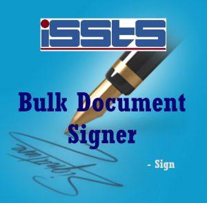 Bulk Document Signer DSC